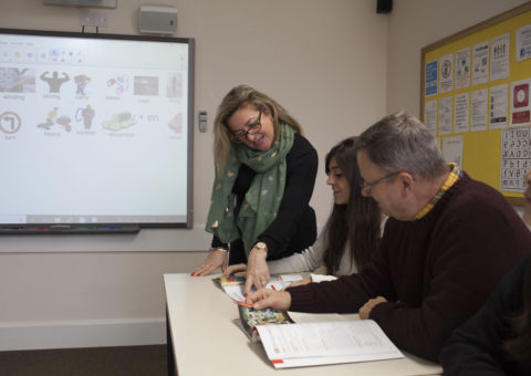 Teacher and Students Southbourne School of English