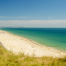 Bournemouth and Southbourne beaches